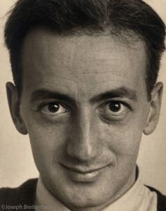 Karl Schrag Portrait, No. 1, 1944 by Joseph Breitenbach ©Joseph Breitenbach