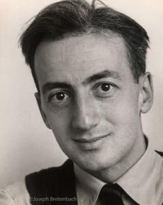 Karl Schrag Portrait, No. 2, 1944 by Joseph Breitenbach ©Joseph Breitenbach