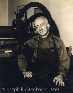 Karl Schrag Portrait, No. 1, 1959, by Joseph Breitenbach ©Joseph Breitenbach