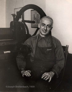 Karl Schrag Portrait, No. 2, 1959, by Joseph Breitenbach ©Joseph Breitenbach