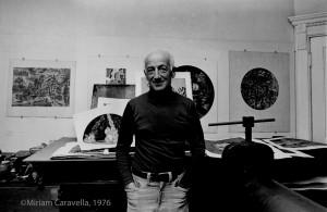 Karl Schrag, No. 1, 1976, by Miriam Caravella ©Miriam Caravella