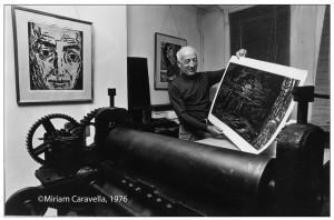 Karl Schrag, No. 2, 1976, by Miriam Caravella ©Miriam Caravella, 1976