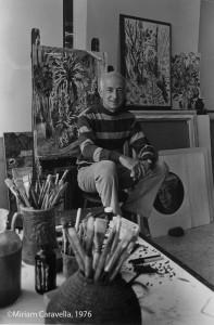 Karl Schrag, No. 3, 1976, by Miriam Caravella ©Miriam Caravella, 1976