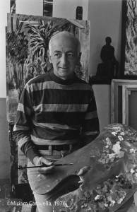 Karl Schrag, No. 5, 1976, by Miriam Caravella ©Miriam Caravella